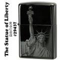 zippo(ジッポーライター)The Statue of Liberty (自由の女神) エボニー 29437画像