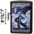 zippo(ジッポーライター)OLIVIA (オリビア) ピンナップガール 29474 Black Matte ブラックマット画像