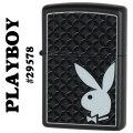 zippo(ジッポーライター)Playboy Bunny Logo プレイボーイ 29578 Black Matte画像