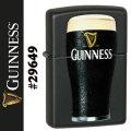 zippo(ジッポーライター) ギネスビール ブラックマット #29649画像