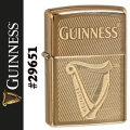 zippo(ジッポーライター) ギネスビール ハイポリッシュブラス 真鍮 #29651画像