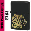 Zippo Price Fighter2018 LION HEAD ブラックマット(29688)画像