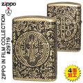 zippo(ジッポーライター)(映画コレクション)第2弾 St. Benedictデザイン画像