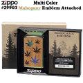 zippo(ジッポーライター) Multi Color Mahogany Emblem Attached #29903画像
