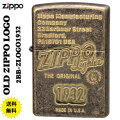 ZIPPO/アンティーク OLD ZIPPO LOGO1932 真鍮バレル仕上げ z2BB-ZLOGO1932画像