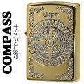 zippo(ジッポーライター)コンパス 金銀 シルバー/ゴールド コンビメッキ仕上げ画像