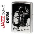 zippo(ジッポーライター)JAZZ ドラム ニッケルミラー画像