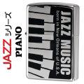 zippo(ジッポーライター)JAZZ ピアノ ニッケルミラー画像