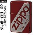 zippo(ジッポーライター)ジッポロゴデザイン RED画像