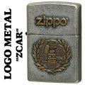 zippo(ジッポーライター)LOGO METAL ZCAR メタルプレート ユーズド加工画像