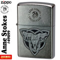 ZIPPO/Anne Stokes(アン・ストークス) Wolf Pack Trinity Knot #49099画像