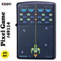 zippo(ジッポーライター) Pixel Gme ピクセルゲーム #49114 ネイビーマット画像