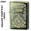 ZIPPO/Follow Your Way Never Give Up Compass 49161画像