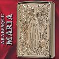 zippo アラベスク マリア 両面加工 ディープエッチング ピンクゴールド画像