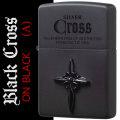 zippo(ジッポーライター)クロス メタル ブラッククロス ブラックマット CRS-BA画像