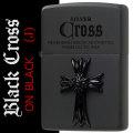 zippo(ジッポーライター)クロス メタル ブラッククロス ブラックマット CRS-BJ画像