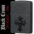 zippo(ジッポーライター)クロス メタル ブラッククロス ブラックマット CRS-BM画像