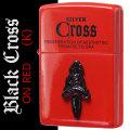 zippo(ジッポーライター)クロス メタル ブラッククロス レッドラッカー CRS-RK画像