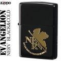 zippo (ジッポーライター) エヴァンゲリオン NERV BLACK&GOLD画像