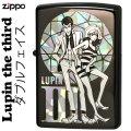 zippo (ジッポーライター) ルパン三世 ダブルフェイス ブラック BK画像