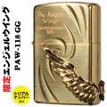 zippo(ジッポー) 限定 エンジェルウィング ゴールド 彫刻 エッチング メタル画像