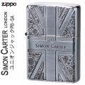 ZIPPO( ジッポー ライター) サイモンカーターユニオンジャックPB-SA SCP-039画像