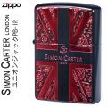 ZIPPO( ジッポー ライター) サイモンカーターユニオンジャックPB-IR SCP-040画像