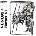 zippo(ジッポーライター)ヴェノムvenom(毒) ホーネットHornet(スズメ蜂)メタル貼り NI画像