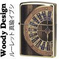 zippo(ジッポーライター)ウッディーデザイン ルーレット真鍮(ブラス) 木象嵌(ぞうがん)加工画像