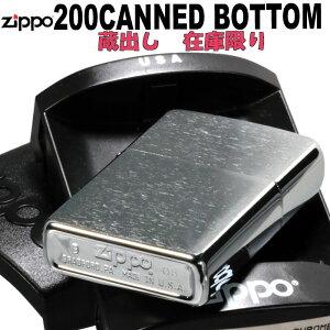 zippo (ジッポーライター) レアモデル海外用200番キャンドボトムジッポーライター保管用プラケース付き画像