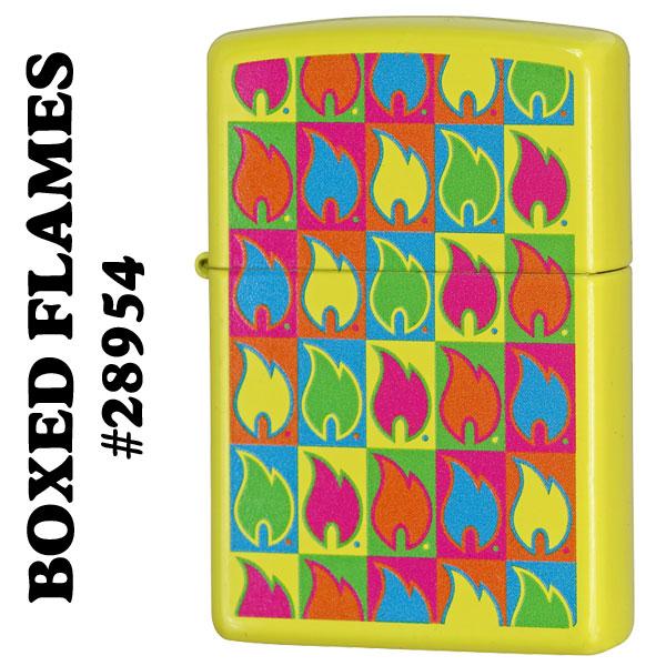 zippo(ジッポーライター)BOXED FLAMES #28954画像