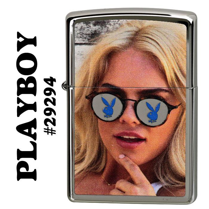 zippo(ジッポーライター) PLAY BOY (プレイボーイ) ハイポリッシュクローム画像