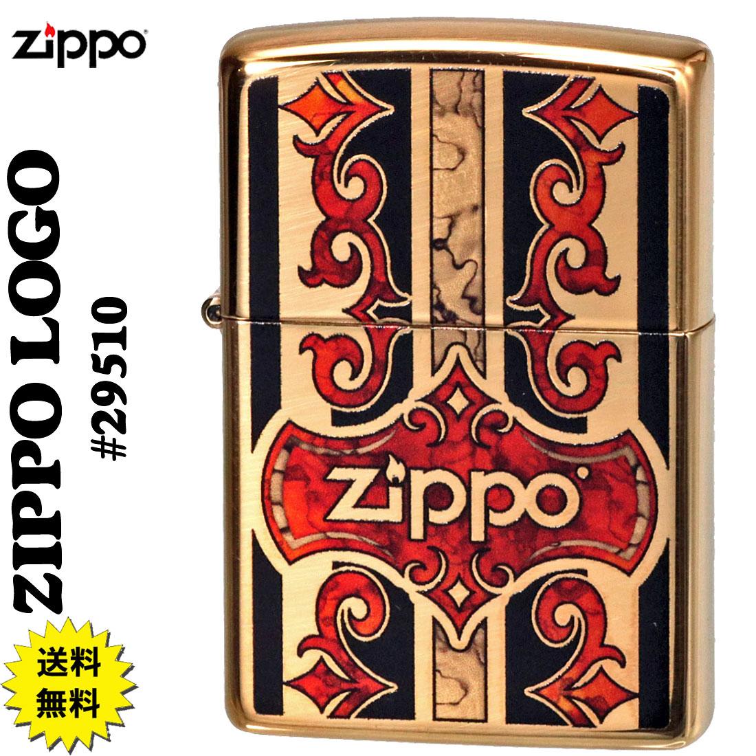 ZIPPO(ジッポーライター) ZIPPO LOGO #29510 ハイポリッシュブラス画像