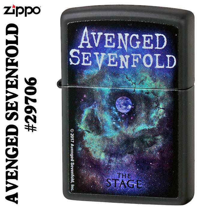 zippo(ジッポーライター) AVENGED SEVENFOLD(セブンフォールド)画像