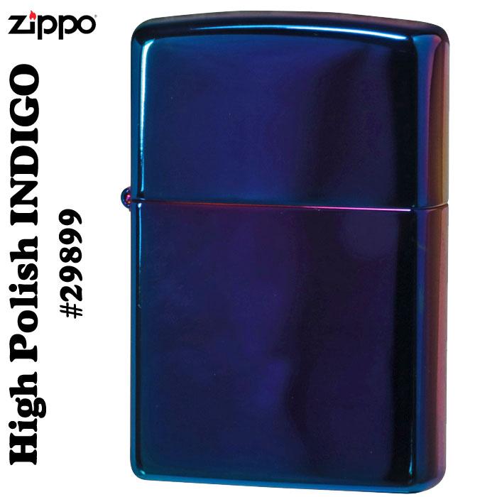 zippo(ジッポーライター) High Polish Indigo #29899画像