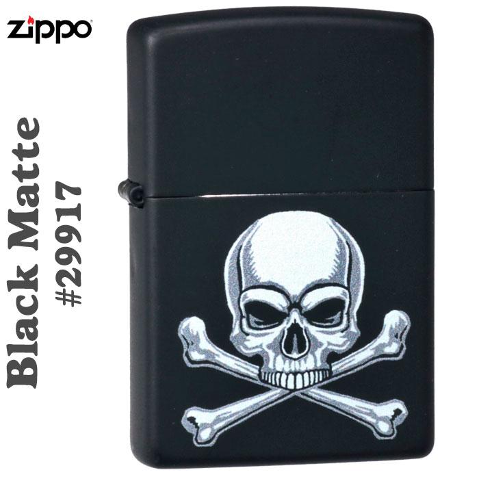 zippo(ジッポーライター) Zippo Price Fighter2019 クロスボーン&スカル #29917 Black Matte画像