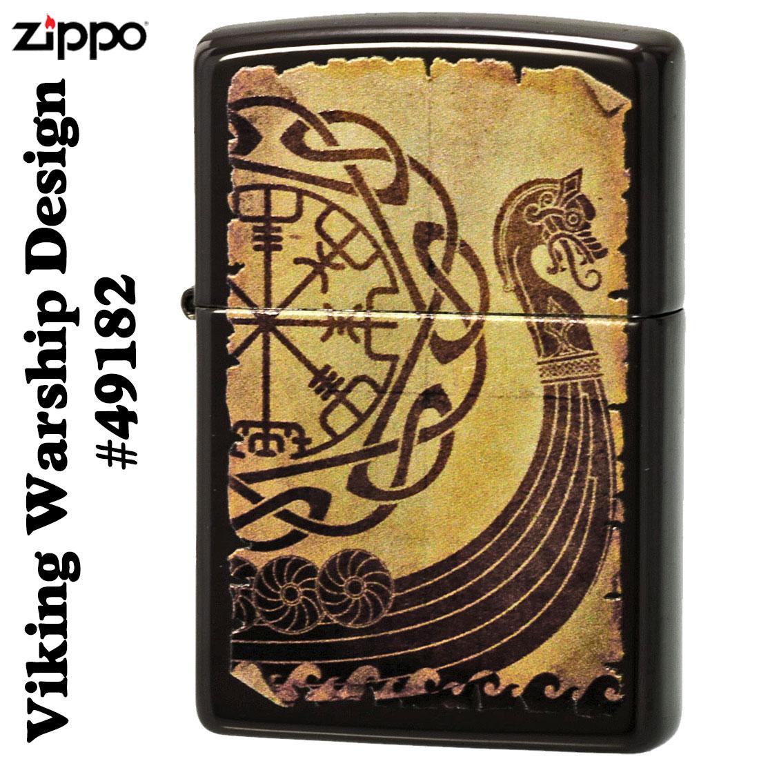 ZIPPO/Viking Warship Design #49182画像