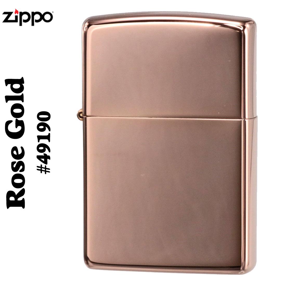 ZIPPO(ジッポーライター) Rose Gold(ローズゴールド)ハイポリッシュ画像