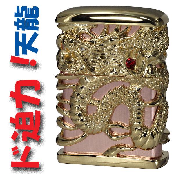 zippo ジッポーライター フルメタルジャケット天龍(一)金 ZIPPO 【ネコポス対応】