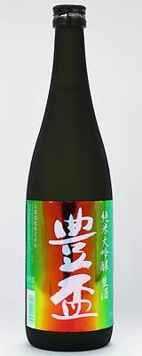 豊盃 純米大吟醸レインボーラベル生720ml