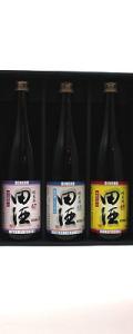 田酒 純米酒セット (美山錦・秋田酒こまち・華吹雪)720ml