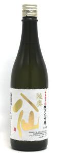 陸奥八仙 純米大吟醸 吟烏帽子40 720ml