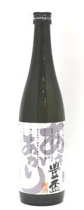 豊盃 特別純米  あきあがり 720ml