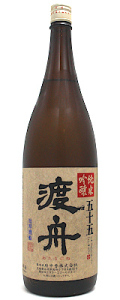 渡舟 五十五 純米吟醸 1800ml