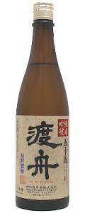 渡舟 五十五 純米吟醸 720ml