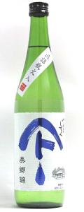 やまとしずく 純米吟醸 美郷錦 直詰瓶火入れ 720ml