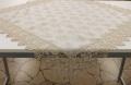 レースジャガード織りテーブルクロス 85cm×85cm