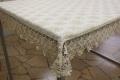 レースジャガード織りテーブルクロス 100cm×150cm