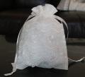 オーガンジーレース巾着 18cm×25cm