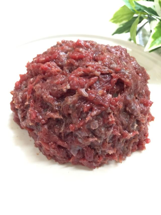 ZUTTO DOG  馬肉ミンチ プレミアム お徳用3kg|犬用 馬肉
